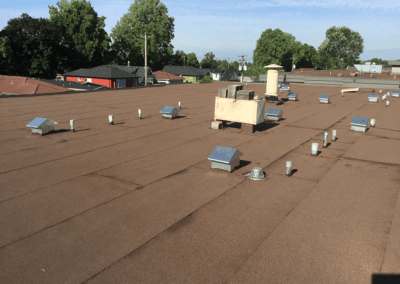 Commercial Roof Replacement - After