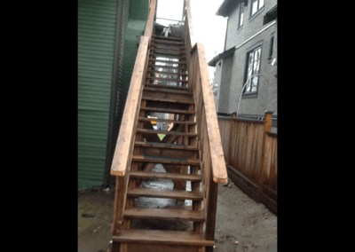 Exterior Stairs After Shot